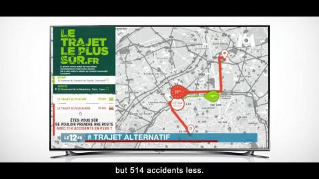 Groupama: Safest Route Outdoor Advert by Kuest Prod, Marcel Paris, Prodigious