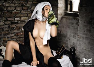 Jbs Underwear: NUN Print Ad by ... & Co.