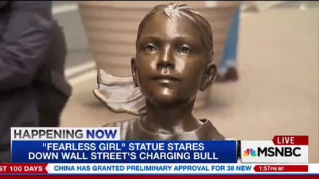 State Street Global Advisors: Fearless Girl, 3 Outdoor Advert by McCann New York, Traction Creative