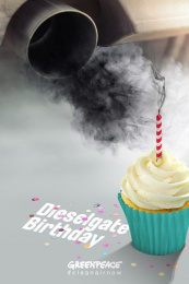 Greenpeace: Dieselgate Birthday Print Ad by Team collaboration