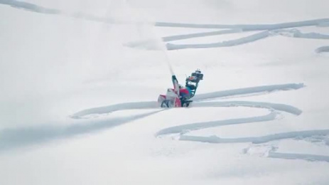 Swisscom: #snowdrawings Ambient Advert by Heimat Berlin, Unit 9 London