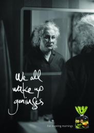 JORE: Einstein Print Ad by MILK Vilnius