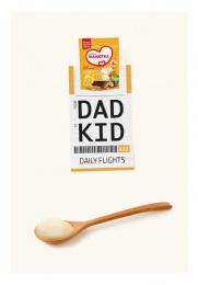 Malutka: DAD-KID Print Ad by Cheil Kazakhstan
