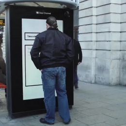 Breath Test Outdoor Advert by AMV BBDO London, Wave