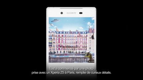 Sony Xperia: THE FIRST ZOOM ON INSTAGRAM Case study by Rosbeef! Paris