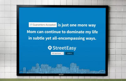 StreetEasy: Find Your Place, 5 Outdoor Advert by Office Of Baby