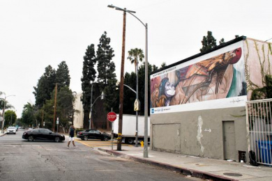 American Express: The Backing Billboard, 4 Outdoor Advert