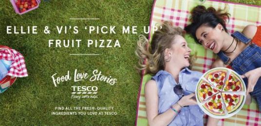 Tesco: Tesco's Food Love Stories, 4 Outdoor Advert by Mediacom London