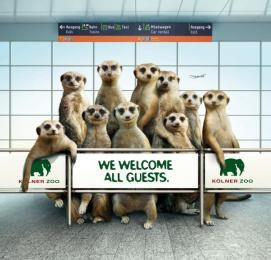 Zoo Cologne: Maarket Print Ad by Preuss Und Preuss Germany