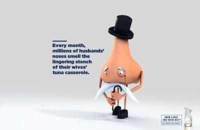 Febreze: Free The Noses, 1 Print Ad by Miami Ad School Miami