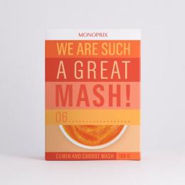 Monoprix: Mash Print Ad by Muscle, Rosapark Paris