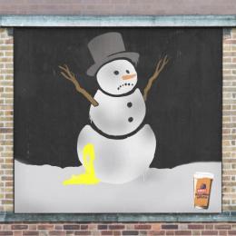 Banks's: Giant Advent Calendar, 2 Ambient Advert by Big Al's Creative Emporium