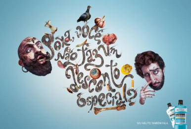 Listerine: Discount Print Ad by Escola Cuca