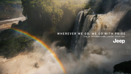 Jeep: Rainbow, 4 Print Ad by Together w/, Buenos Aires, Argentina