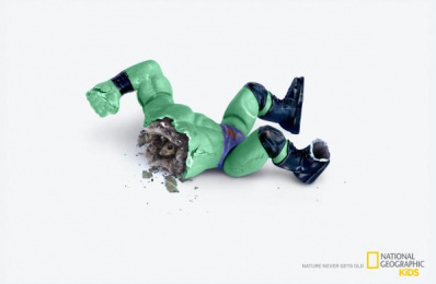 National Geographic Kids: Nature Never Gets Old - Mouse Print Ad by Foxp2 Cape Town