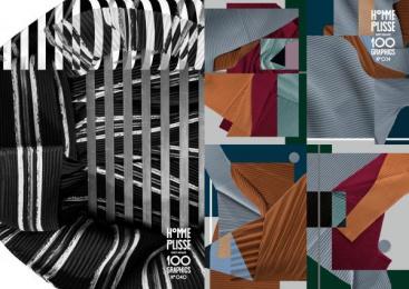 Issey Miyake: 100 Graphics By Homme Plisse Issey Miyake, 4 Design & Branding by Boat Tokyo, Grandpa Tokyo, Q Tokyo