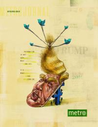Metro: Deconstruction - Trump Print Ad by Danza Estrategia e Comunicacao