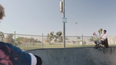 Little Caesars: Skatepark Film by Barton F. Graf New York, Dummy Films