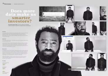Investec: The Human Search Bar, 2 Print Ad by Ogilvy Johannesburg