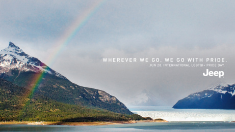 Jeep: Rainbow, 1 Print Ad by Together w/, Buenos Aires, Argentina