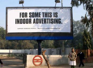 ActionAid: Actionaid Homeless Print Ad by Grey Mumbai