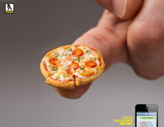 Yellow Pages/ YP: Mini pizza Print Ad by Key Publicidad, Montevideo
