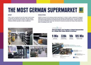 Edeka: Edeka Vielfalt [image] Direct marketing by Jung Von Matt Germany, Markenfilm