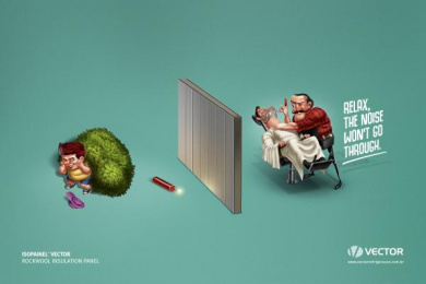 Vector: Bomb Print Ad by Fun Comunicação