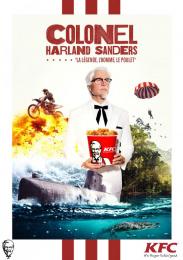 Kentucky Fried Chicken (KFC): Colonel Sanders, 3 Print Ad by La PAC, Sid Lee Paris