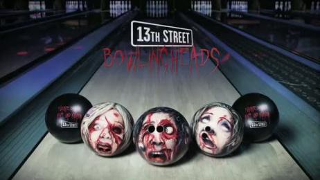 13eme Rue (13th Street): Bowlingheads Ambient Advert by Jung Von Matt/Elbe Hamburg