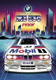 BMW: 80s Print Ad by FCB Inferno London