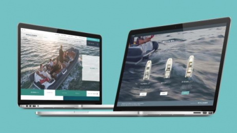Williams Jet Tenders: The Williams website, 3 Digital Advert by Thinking Juice