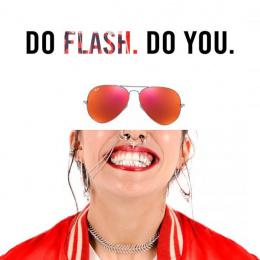 Ray-ban: Flash Print Ad by RXM Creative New York