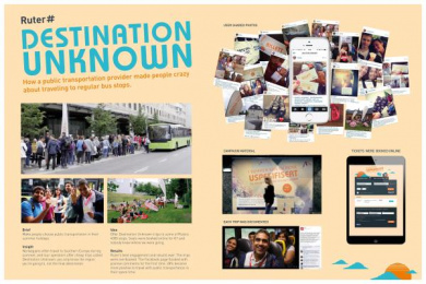 Ruter: DESTINATION UNKNOWN Case study by McCann Oslo