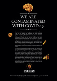 Studio Nuts: Fight against Covid-19 Print Ad by STUDIO NUTS