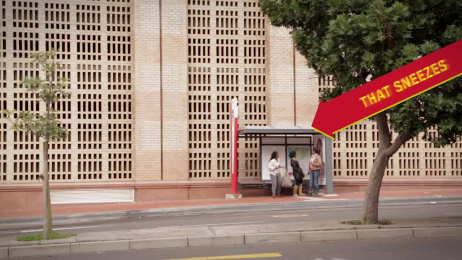 Med-Lemon: The Sneezing Poster Outdoor Advert by 140 BBDO Cape Town