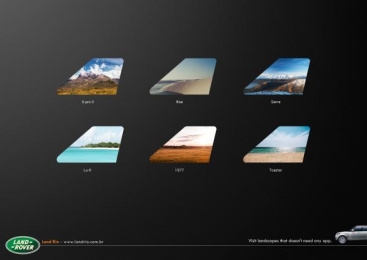 Land Rover: App Print Ad by DraftFCB Rio De Janeiro