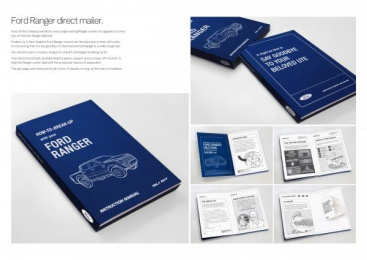 Ford: How To Break Up With Your Ford Ranger Direct marketing by J. Walter Thompson Auckland