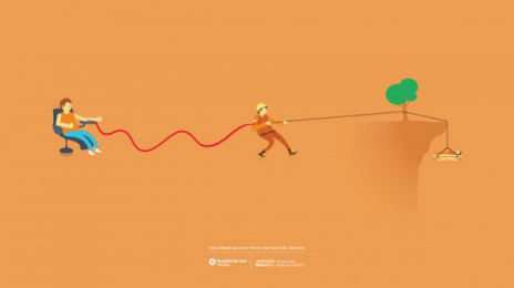 Gandhi Bookstores: RESCUER Print Ad by (anonimo) Mexico