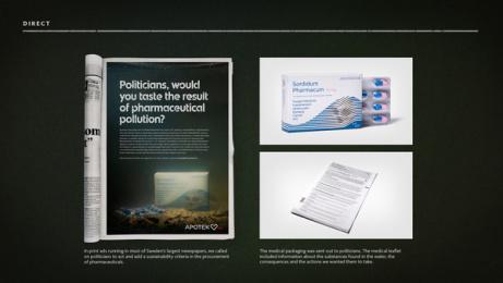 Apotek Hjärtat: A Hard Pill To Swallow, 4 Print Ad by Akestam.holst Stockholm, BKRY NoA / Stockholm