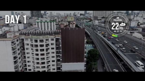 Pantene: The Hair Falling Billboard [image] 2 Ambient Advert by Bearhug, GREYnJ United Thailand