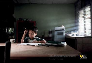 National Cancer Society Malaysia: Work Print Ad by McCann Erickson Kuala Lumpur