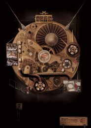 ESPN Classic: THE TIME TRAVELING CHANNEL Print Ad by Hemisphere Droit