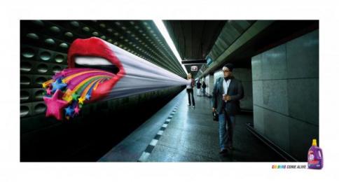 Dynamo Colour: LIPS Print Ad by Saatchi & Saatchi Malaysia