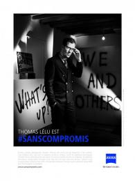 Zeiss: Thomas Lelu Print Ad by gyro Paris