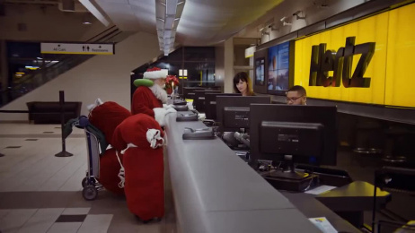 Hertz: Santa is Coming Film by Honor Society
