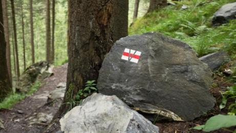 Graubunden Tourism: Every spot a masterpiece [image] 5 Ambient Advert by Jung Von Matt/Limmat Zurich