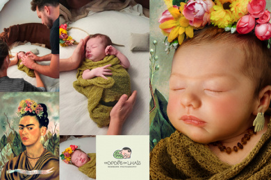 Os Bebês da Lhais - Newborn Photography: Your baby is a work of art, 2 Print Ad by Tuppi