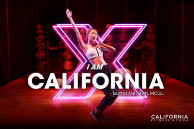 California Fitness: I am California - Quynh Anh Shyn Print Ad by DDB & Tribal Vietnam