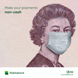 Rabitabank: Cashless, 2 Digital Advert by Endorphin Baku